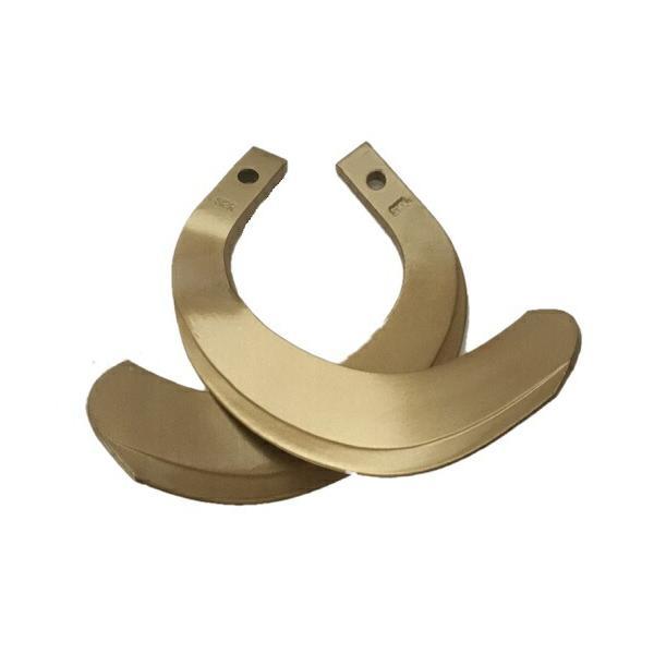 イセキ トラクター爪 34本 63-124 ロータリー爪 耕うん爪 ゴールド爪