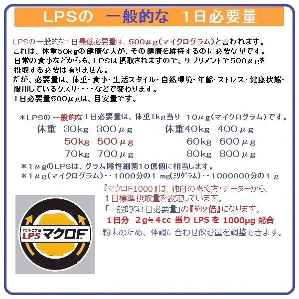 お試し用 パントエア菌 LPS配合 マクロF1000 mf5 60g入 約1カ月分 免疫 ビタミン マクロファージ 活性化 健康増進 簡易包装 送料無料 税込 ******|nourinn|11