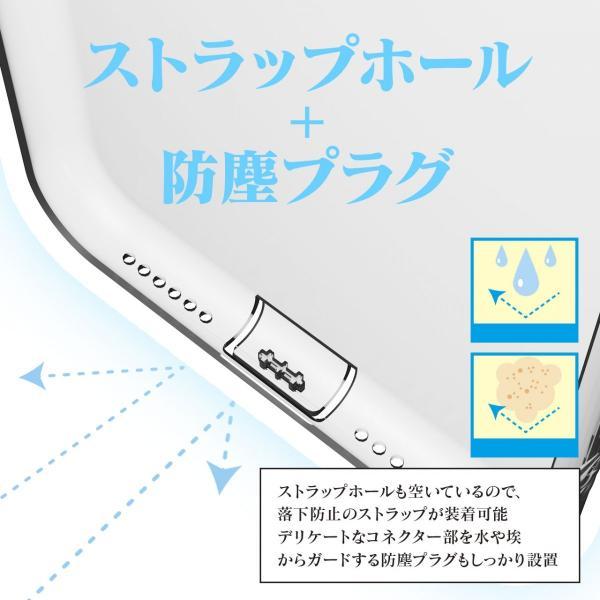 iPhone ケース クリアクリスタル iPhone 8 7 Plus iPhone XR XS XSMax クリアケース ストラップホール付き クリア 超薄型 超軽量 耐衝撃 防指紋|nowest-shop|05