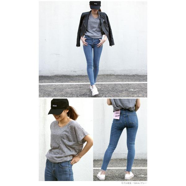 韓国 ファッション Tシャツ レディース おしゃれ 半袖 ビッグポケットTシャツ|nowistyle-y|12