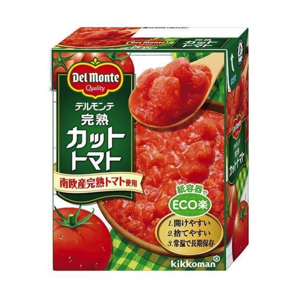 送料無料 デルモンテ 完熟カットトマト 388g紙パック×12個入