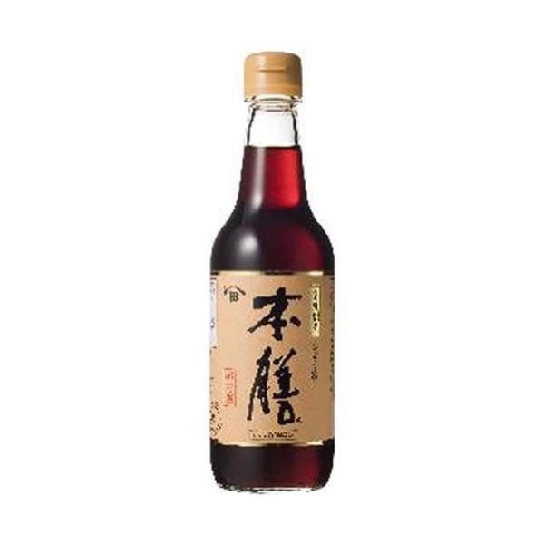 送料無料 【2ケースセット】キッコーマン ヒゲタ 本膳 360ml瓶×6本入×(2ケース)