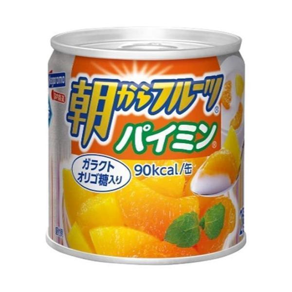 送料無料 はごろもフーズ 朝からフルーツ パイミン 190g缶×24個入