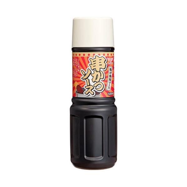 送料無料 【2ケースセット】ハグルマ 串かつソース 500mlペットボトル×10本入×(2ケース)