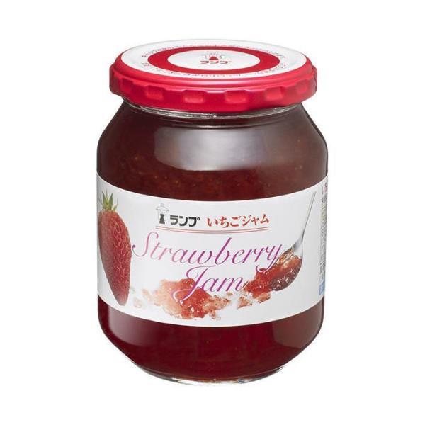 送料無料 【2ケースセット】アヲハタ ランプ イチゴジャム 380g瓶×12個入×(2ケース)