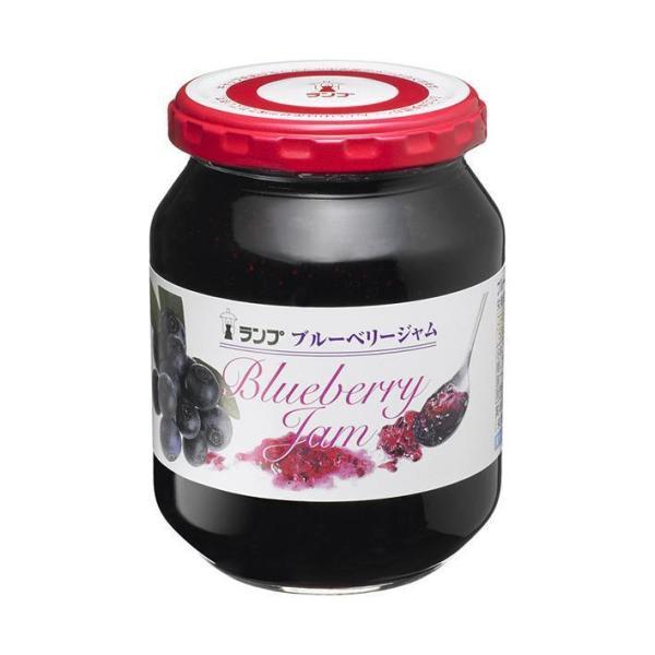 送料無料 アヲハタ ランプ ブルーベリージャム 380g瓶×12個入