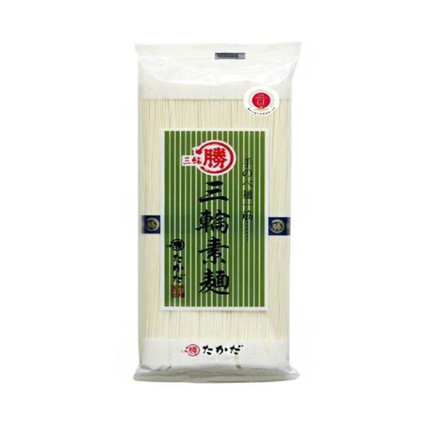 送料無料 マル勝高田 三輪素麺 大判 500g×20個入