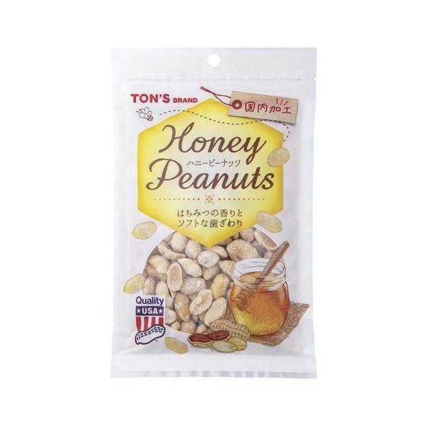 送料無料 東洋ナッツ食品 トン ハニーピーナッツ 110g×10袋入