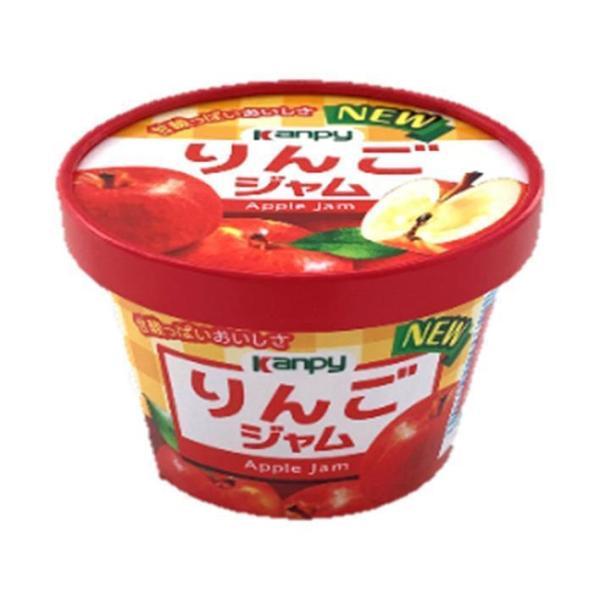 送料無料 【2ケースセット】カンピー 紙カップ りんごジャム 140g×6個入×(2ケース)