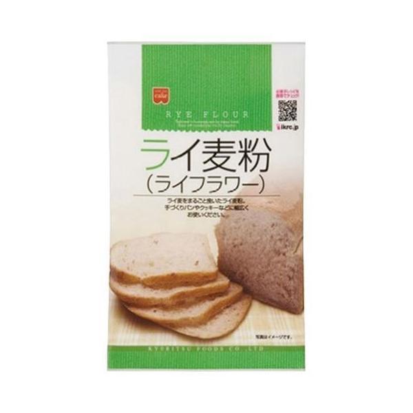 送料無料 共立食品 ライ麦粉(ライフラワー) 200g×6袋入