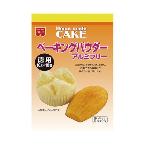 送料無料 共立食品 徳用 ベーキングパウダー 100g(10g×10袋)×6袋入
