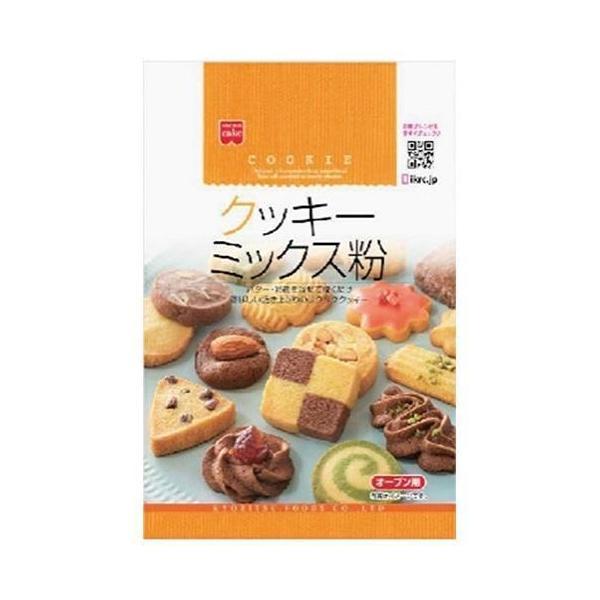 送料無料 【2ケースセット】共立食品 クッキーミックス粉 200g×6袋入×(2ケース)