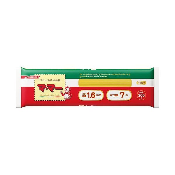 送料無料 日清フーズ マ・マー スパゲティ 1.6mm 300g×40袋入