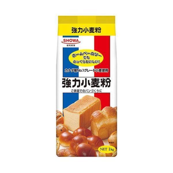 送料無料 昭和産業 (SHOWA) 強力小麦粉 1kg×15袋入