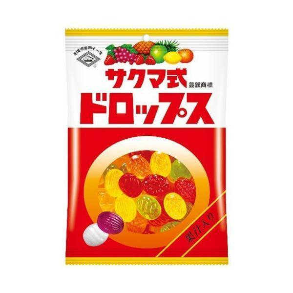 送料無料 【2ケースセット】佐久間製菓 サクマ式ドロップス(P) 120g×6袋入×(2ケース)