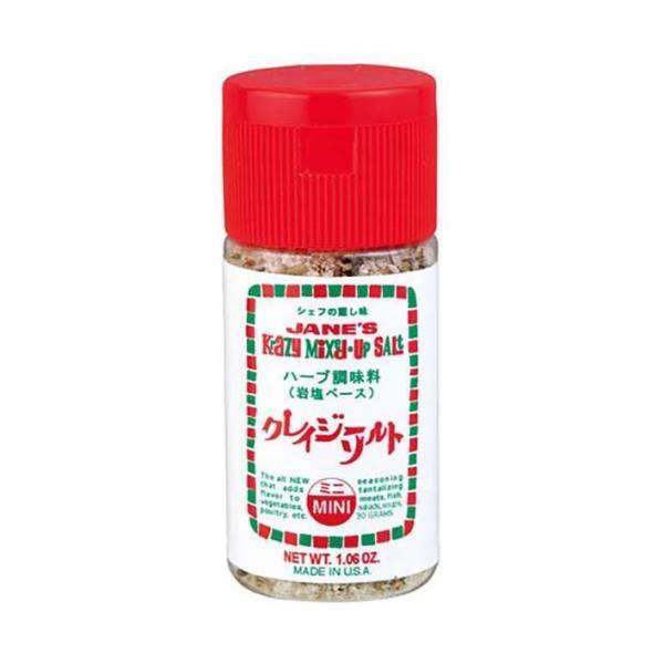 送料無料 【2ケースセット】ジェーン クレイジーソルト ミニ 30g×6本入×(2ケース)