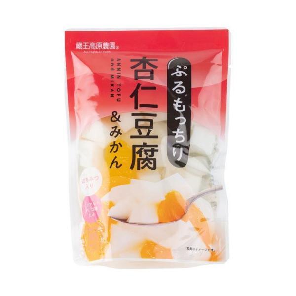 送料無料 和歌山産業 蔵王高原農園 杏仁豆腐 180g×10袋入