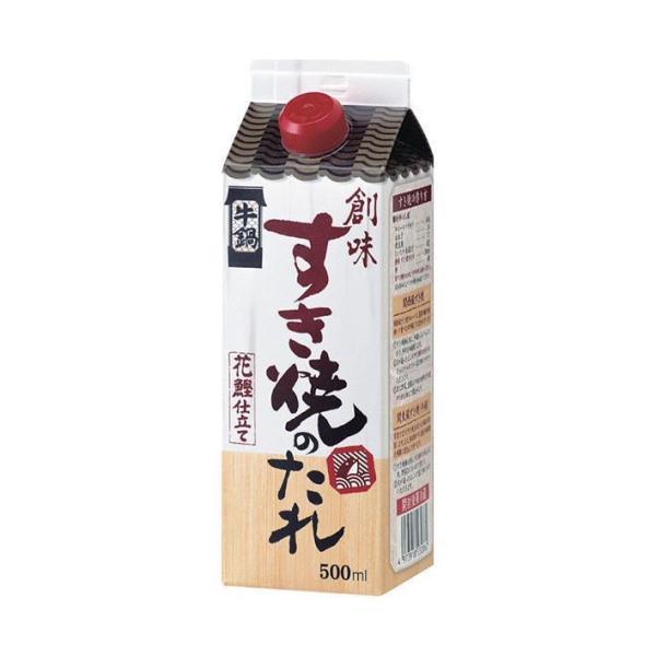 送料無料 創味食品 創味 すき焼きのたれ 500ml紙パック×6本入