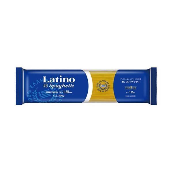送料無料 【2ケースセット】ラティーノ #6スパゲッティ 500g×24袋入×(2ケース)
