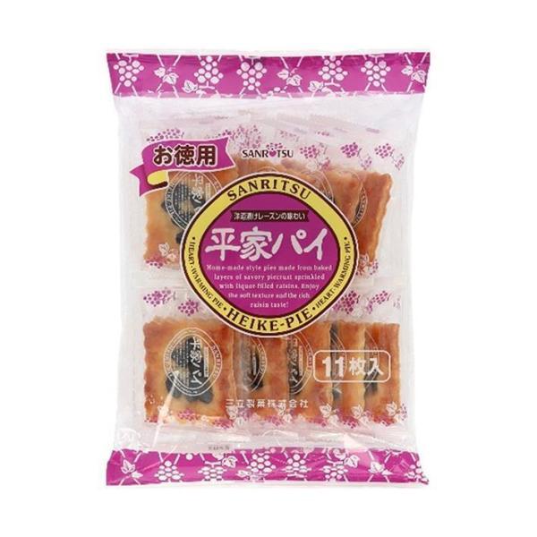 送料無料 三立製菓 お徳用 平家パイ 12枚×10袋入