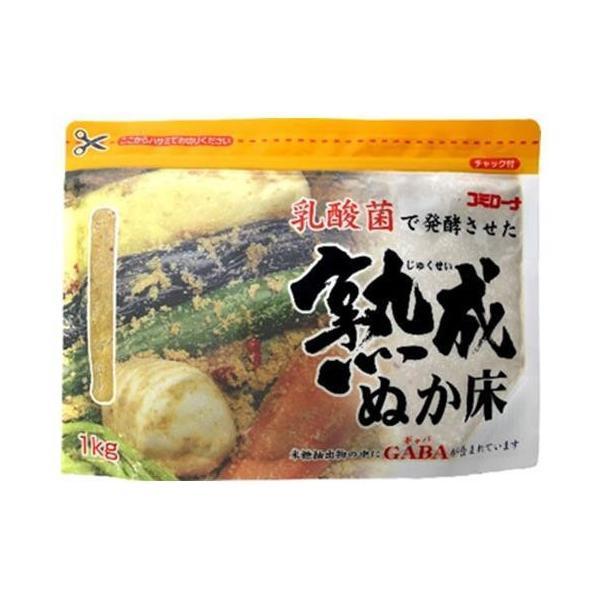 送料無料 【2ケースセット】コーセーフーズ 熟成ぬか床 1kg×10袋入×(2ケース)