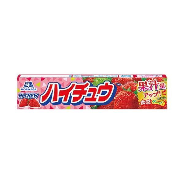 送料無料 森永製菓 ハイチュウ ストロベリー 12粒×12個入