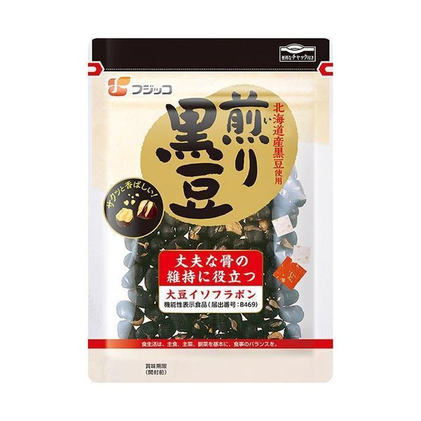 送料無料 フジッコ 煎り黒豆 57g×10袋入