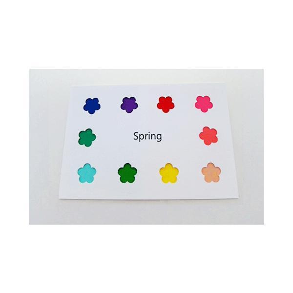 パーソナルカラー 10タイプ はがきサイズ 布見本 カラーパレット スウォッチ|nrkcolorshop2|02