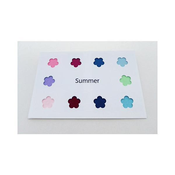 パーソナルカラー 10タイプ はがきサイズ 布見本 カラーパレット スウォッチ|nrkcolorshop2|03