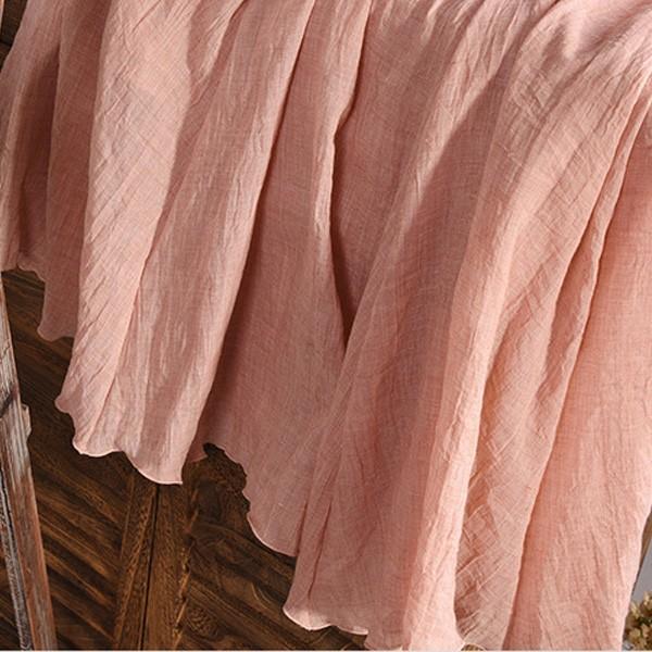 リネンロングスカート すっきりシルエット ロングスカート マキシスカート  夏 ウエストゴム レディース リネンスカート|nselect|11