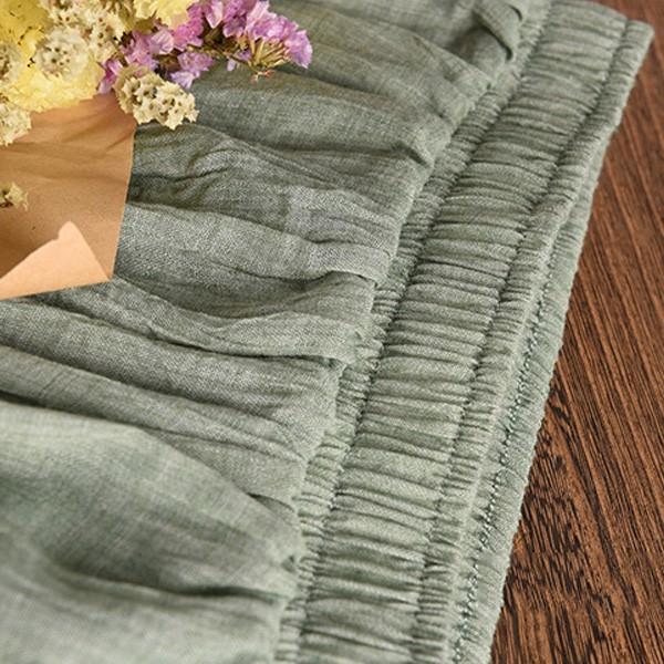 リネンロングスカート すっきりシルエット ロングスカート マキシスカート  夏 ウエストゴム レディース リネンスカート|nselect|10