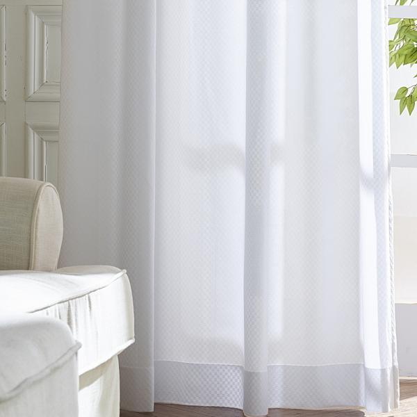 遮熱 断熱 保温 昼も夜も見えにくい ミラーレースカーテン 50サイズ均一価格 無地柄 チェック柄 クロッシェ柄 ストライプ柄|nt-curtain|04