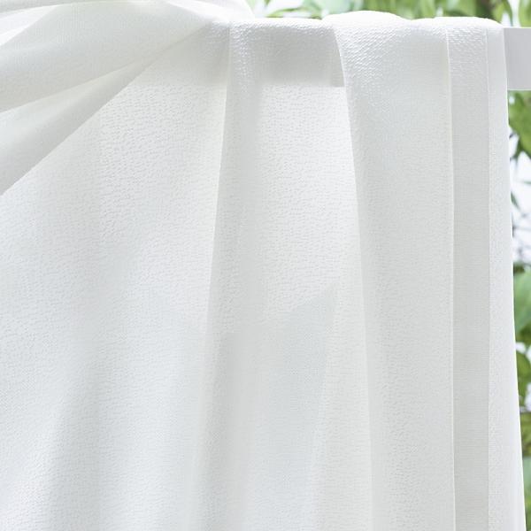 遮熱 断熱 保温 昼も夜も見えにくい ミラーレースカーテン 50サイズ均一価格 無地柄 チェック柄 クロッシェ柄 ストライプ柄|nt-curtain|06
