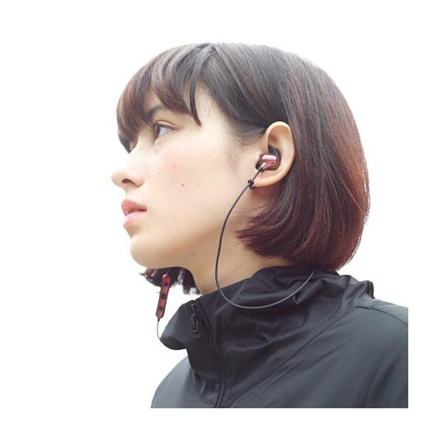 【公式ストア】NUARL NB10 Bluetooth/音漏れ防止/国内技適認証品/リモコンマイク/軽量ワイヤレスイヤホン(メタリックグレー)|nuarl|02