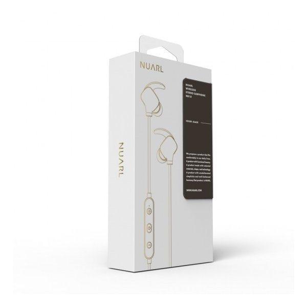 【公式ストア】NUARL NB10 Bluetooth/音漏れ防止/国内技適認証品/リモコンマイク/軽量ワイヤレスイヤホン(メタリックグレー)|nuarl|05