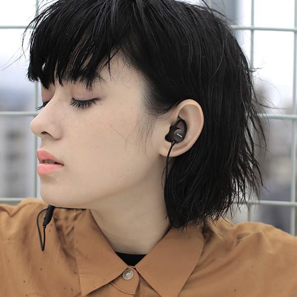 【公式ストア】NUARL NB20C Bluetooth/IPX6耐水/6h連続再生/リモコンマイク/小型軽量ワイヤレスステレオイヤホン(ブラックメタリック) ※延長保証+6ヶ月付|nuarl|03