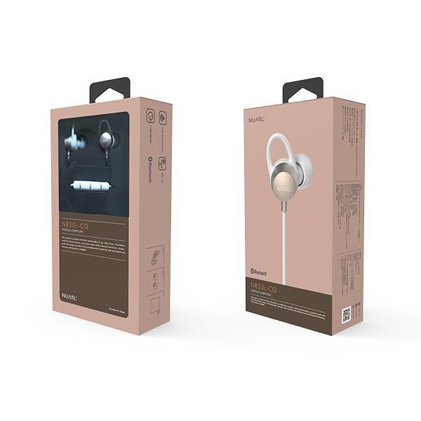 【公式ストア】NUARL NB20C Bluetooth/IPX6耐水/6h連続再生/リモコンマイク/小型軽量ワイヤレスステレオイヤホン(シャンパンゴールド) ※延長保証+6ヶ月付|nuarl|05