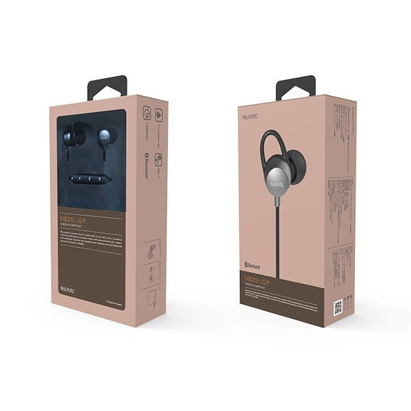 【公式ストア】NUARL NB20C Bluetooth/IPX6耐水/6h連続再生/リモコンマイク/小型軽量ワイヤレスステレオイヤホン(マットグレー) ※延長保証+6ヶ月付|nuarl|05