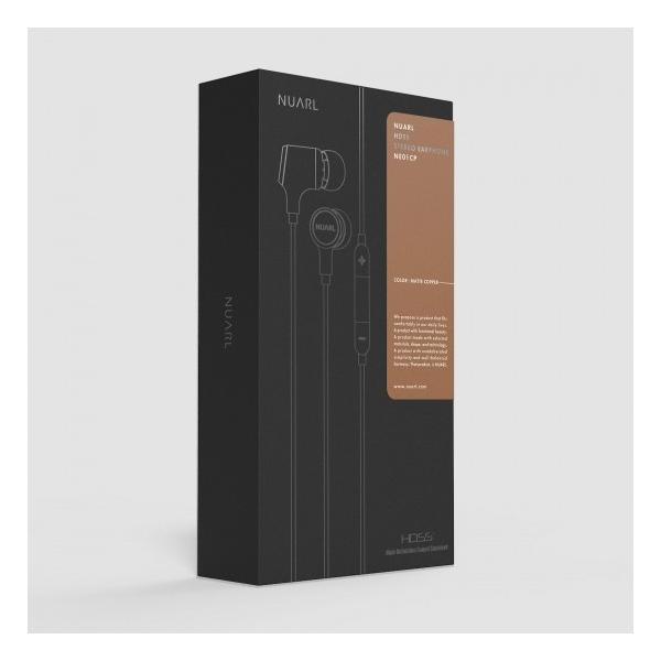 【公式ストア】NUARL NE01 リモコンマイク付/HDSSステレオイヤホン(マットカッパー)※延長保証+6ヶ月付|nuarl|07