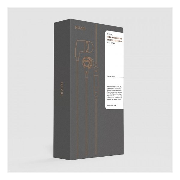 [NUARL公式ストア] NUARL NE110 リモコンマイク付/ ハイレゾ ステレオイヤホン(ホワイト)※延長保証+6ヶ月付|nuarl|05