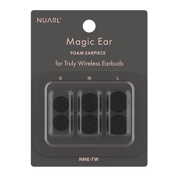 "NUARL ""MAGIC EAR for TWE"" フォームイヤーピース(S/M/L ペアセット)|nuarl|02"