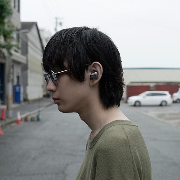 【公式ストア】NUARL NT01 Bluetooth5/完全ワイヤレス/IPX4耐水/5h連続再生/マイク付/軽量5g/ステレオイヤホン【ブラックシルバー】|nuarl|02