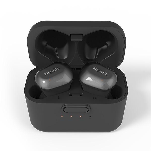 【公式ストア】NUARL NT01 Bluetooth5/完全ワイヤレス/IPX4耐水/5h連続再生/マイク付/軽量5g/ステレオイヤホン【ブラックシルバー】|nuarl|05