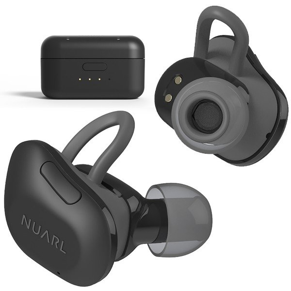 【公式ストア】NUARL NT01 Bluetooth/完全ワイヤレス/IPX4耐水/5h再生/マイク付/軽量5g/左右独立ステレオイヤホン(マットブラック)※延長保証+6ヶ月付|nuarl|03