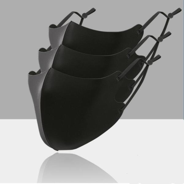 即納 アイスマスク 夏用 接触冷感マスク 3枚セット コーティング 洗える 涼感 涼しい ひんやりウィルス対策 飛沫感染対策 国内発送 紐調節 numbers 12