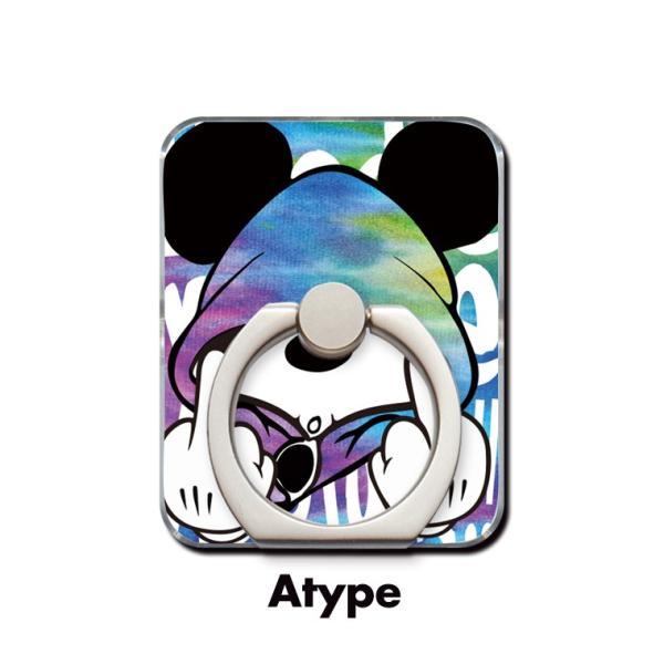 スマホリング 全機種対応 iPhone Galaxy Xperia AQUOSPHONE 落下防止 ass Mouse FUCK ファック ネズミッキー パロディ デザイン 可愛い|numbers|02