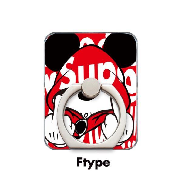 スマホリング 全機種対応 iPhone Galaxy Xperia AQUOSPHONE 落下防止 ass Mouse FUCK ファック ネズミッキー パロディ デザイン 可愛い|numbers|07