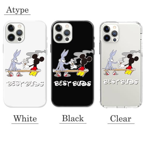 全機種対応 iPhone11 11pro Galaxy Xperia AQUOSPHONE BEST BAD キャラクター 煙草 もらいタバコ 葉っぱ マリファナ 悪友 おもしろデザイン おしゃれ トレンド numbers 02