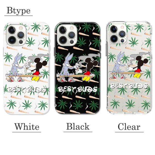 全機種対応 iPhone11 11pro Galaxy Xperia AQUOSPHONE BEST BAD キャラクター 煙草 もらいタバコ 葉っぱ マリファナ 悪友 おもしろデザイン おしゃれ トレンド numbers 03