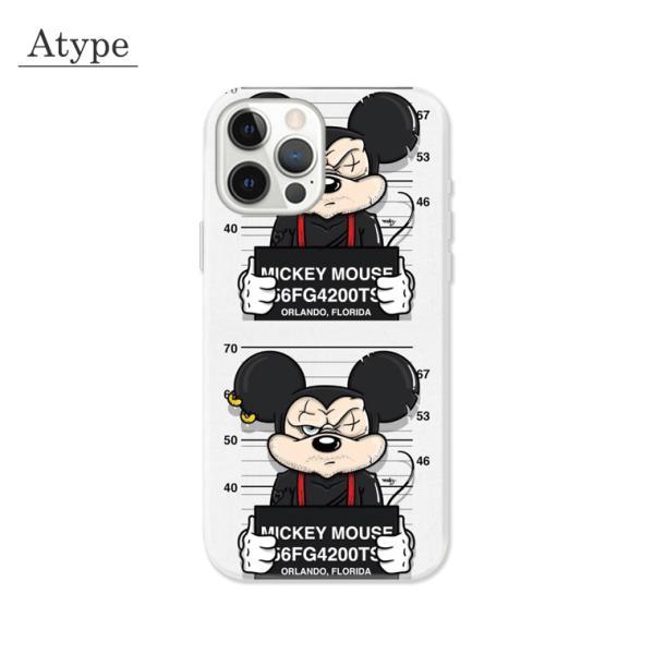 全機種対応 スマホ ケース iPhone11 11pro Galaxy Xperia AQUOSPHONE 囚人 逮捕 おもしろ 悪人 極悪 カップル マウス|numbers|02